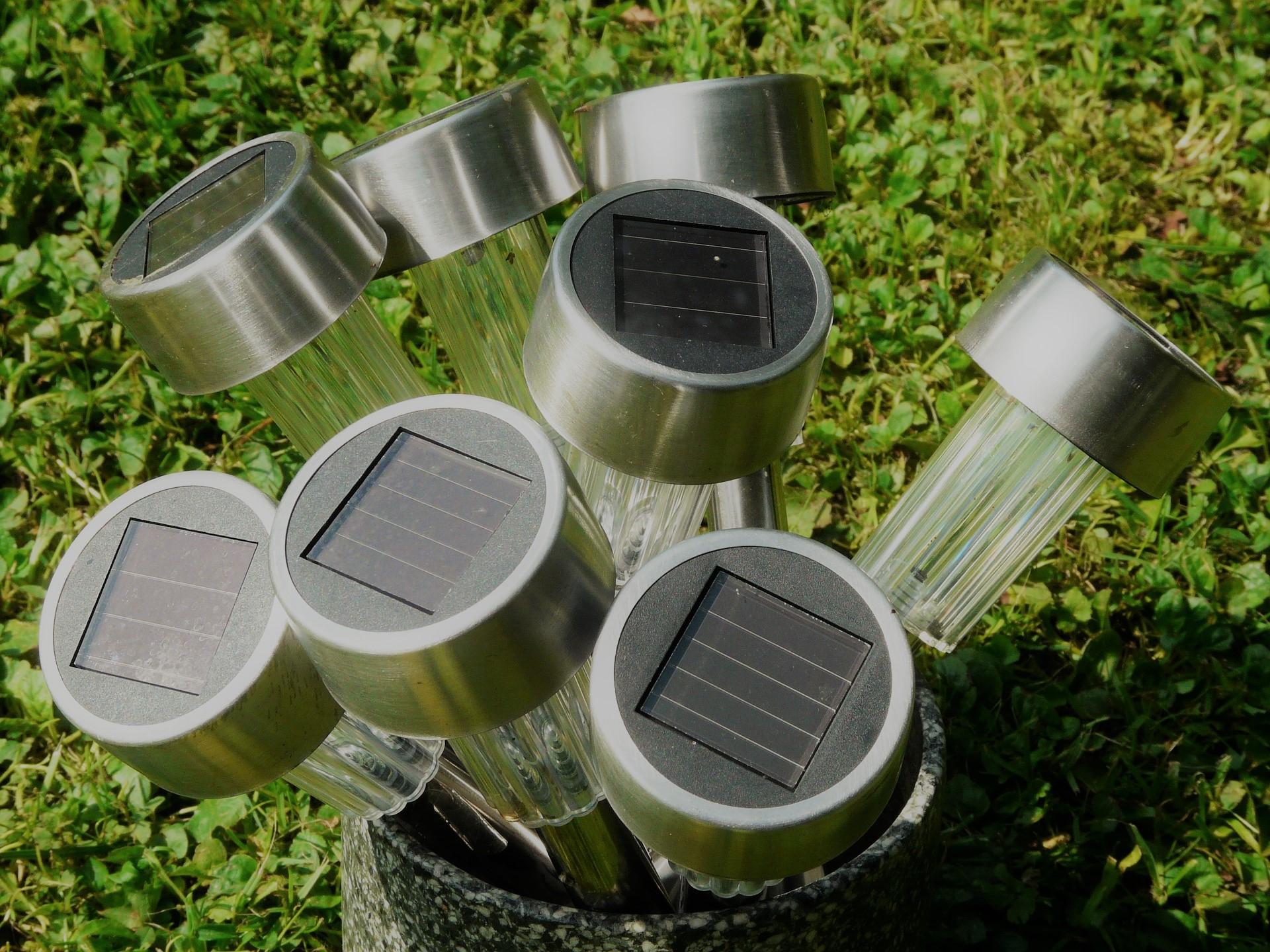 Illuminazione solare per il giardino u affitto giardino